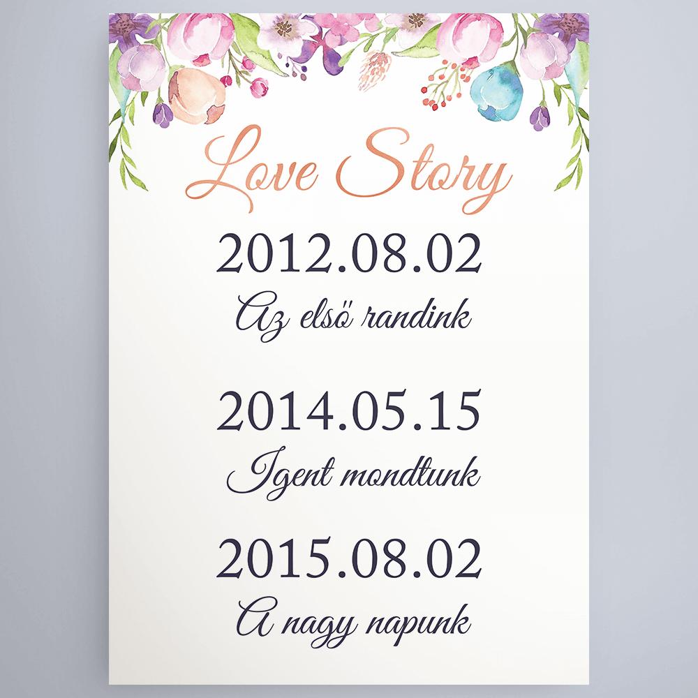 Dátumos Love Story Poszter